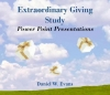 Extraordinary Giving Single CD with 9 PowerPoint Presentations