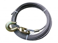 "7/16"" x 150' cable w/swivel hook"