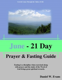 June - 21 Day Prayer & Fasting Guide
