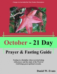 October - 21 Day Prayer & Fasting Guide