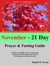November - 21 Day Prayer & Fasting Guide