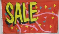 3x5' Sale Flag - Confetti