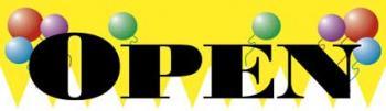 Open Vinyl Banner - 3' x 10' - B