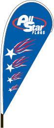 9' Custom Teardrop Flag Kit
