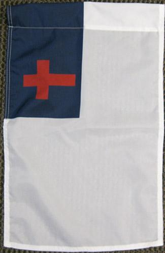 "Christian Nylon Garden Flag - 12""x18"""