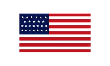 3x5' 25 Star American Flag - Nylon