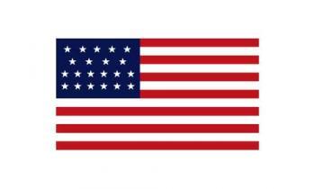 3x5' 21 Star American Flag - Nylon