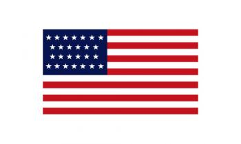 3x5' 26 Star American Flag - Nylon