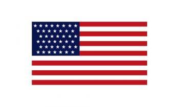 3x5' 43 Star American Flag - Nylon