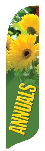 Annuals 2 Quill Flag Kit - 2' x 11'
