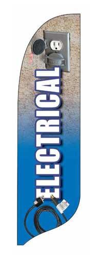 Electrical Quill Flag Kit - 2' x 11'