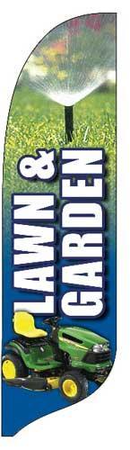 Lawn Quill Flag Kit - 2' x 11'