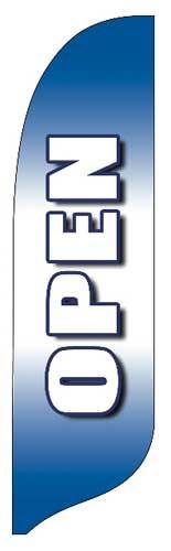 Open BWB Quill Flag Kit - 2' x 11'
