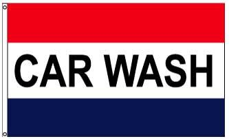 3x5' Car Wash Flag - Nylon