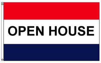 3x5' Open House Flag - Nylon