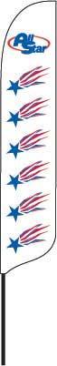 2x12' Custom Quill Flag Kit
