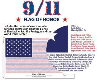 3x5' Flag of Honor - PolyCotton