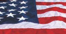 6x10' American Flag - Nylon - Ultra Wave