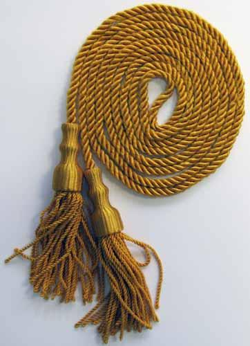 "5"" Gold Cord and Tassel"