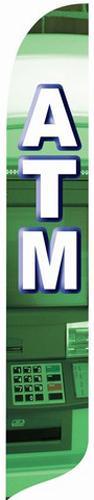 ATM Quill Flag Kit - 2' x 11'