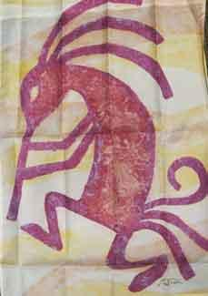 "28"" x 40"" Kokopelli Decorative Banner"