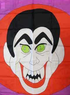 "33"" x 44"" Dracula Decorative Banner"