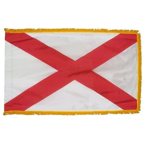 3x5' Alabama State Flag - Nylon Indoor
