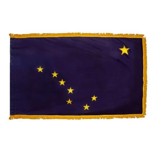 3x5' Alaska State Flag - Nylon Indoor