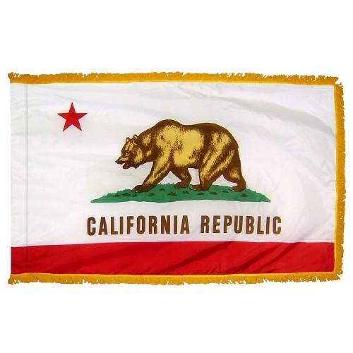 3x5' California State Flag - Nylon Indoor