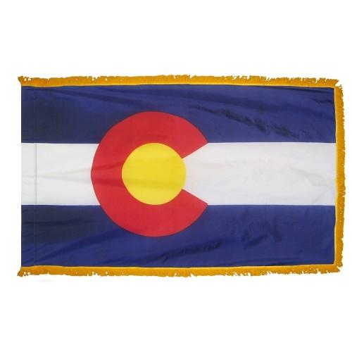 3x5' Colorado State Flag - Nylon Indoor