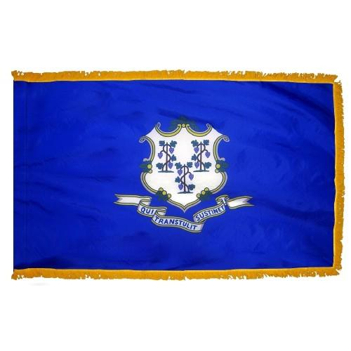 3x5' Connecticut State Flag - Nylon Indoor