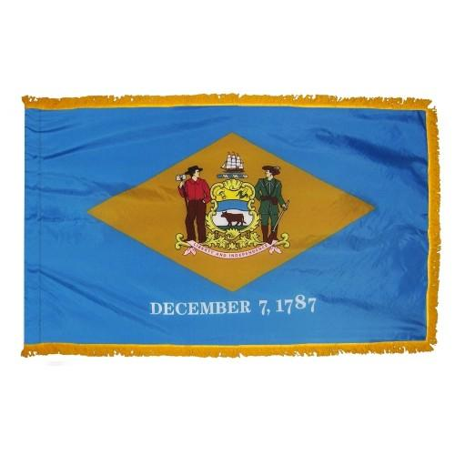 3x5' Delaware State Flag - Nylon Indoor