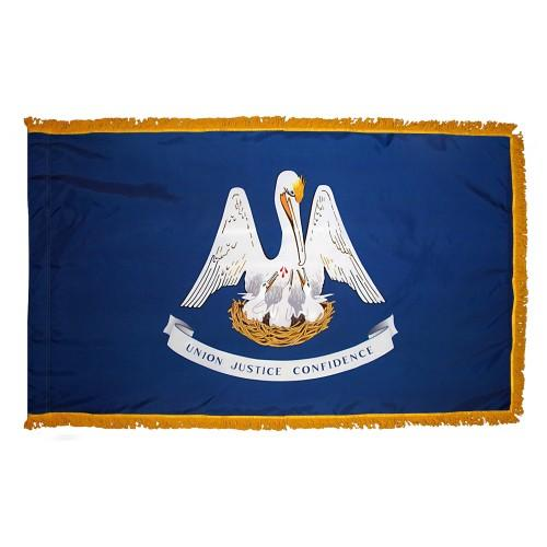 3x5' Louisiana State Flag - Nylon Indoor