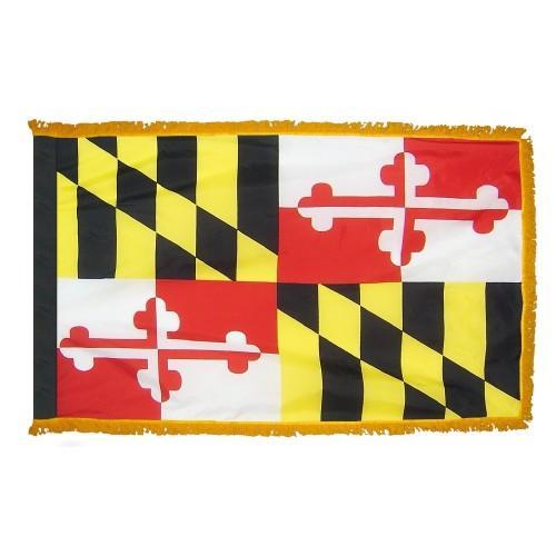 3x5' Maryland State Flag - Nylon Indoor