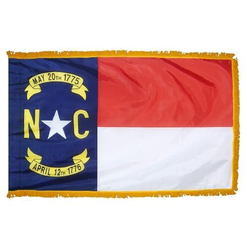 3x5' North Carolina State Flag - Nylon Indoor