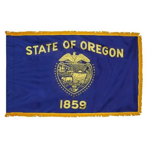 3x5' Oregon State Flag - Nylon Indoor