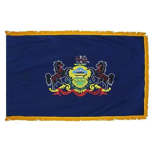 3x5' Pennsylvania State Flag - Nylon Indoor
