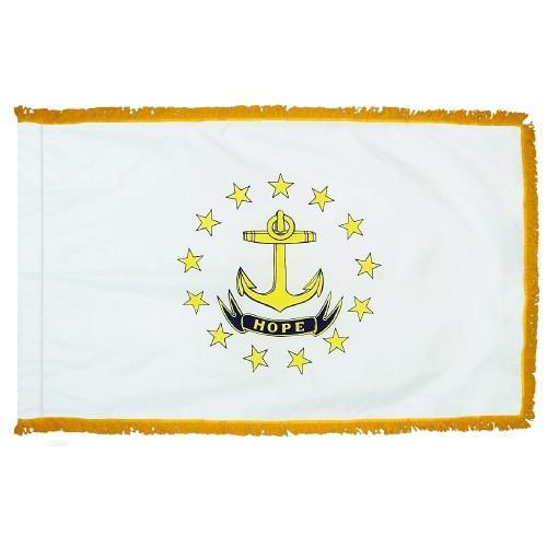 3x5' Rhode Island State Flag - Nylon Indoor