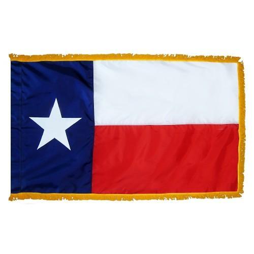 3x5' Texas State Flag - Nylon Indoor