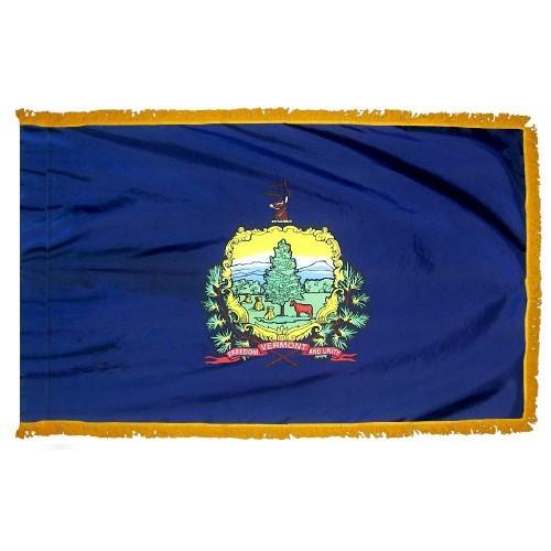 3x5' Vermont State Flag - Nylon Indoor
