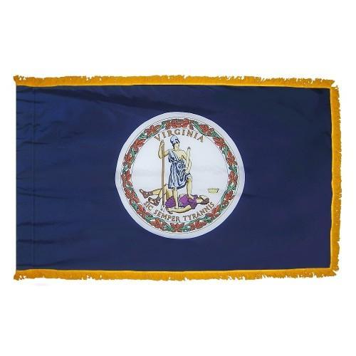 3x5' Virginia State Flag - Nylon Indoor