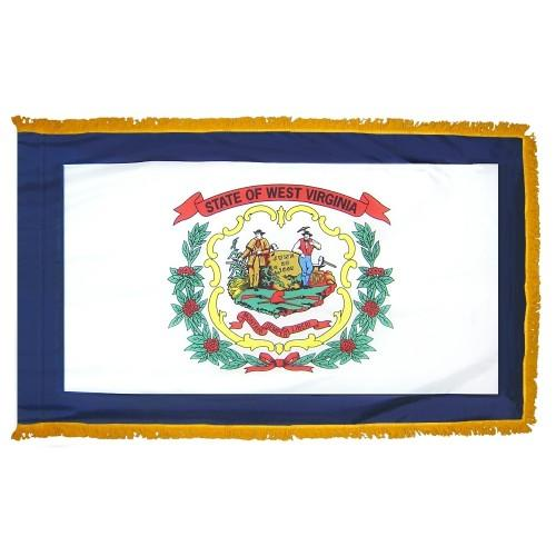 3x5' West Virginia State Flag - Nylon Indoor