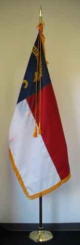 8' Presidential State Indoor Flag Set