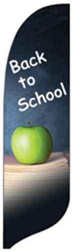 Back To School Quill Flag Kit - 2' x 11'