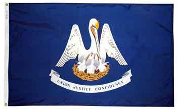 3x5' Louisiana State Flag - Nylon