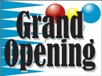 "Grand Opening Coroplast Yard Sign - 18"" x 24"" (KWHBLNGO)"
