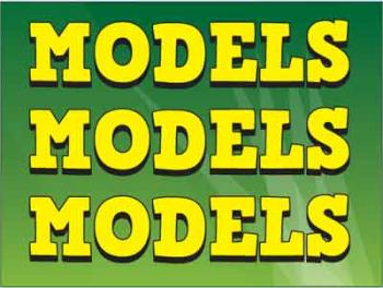 "Models Coroplast Yard Sign - 18"" x 24"" (KWMDLS)"