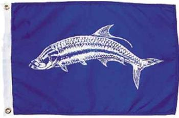 Tarpon Nautical Fun Flag - Nylon - 12x18""