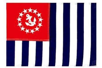 """US Power Squadron Flag - Nylon - 12x18"""""""