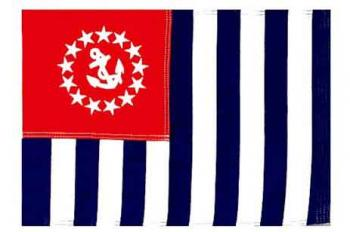 """US Power Squadron Flag - Nylon - 30x48"""""""